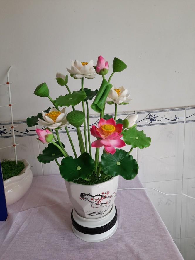 Tình yêu hoa từ đất sét của nữ thạc sỹ 9X ở Cần Thơ - ảnh 9