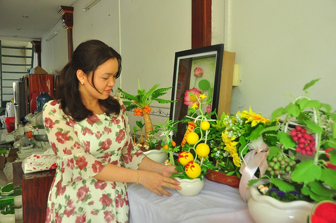 Tình yêu hoa từ đất sét của nữ thạc sỹ 9X ở Cần Thơ - ảnh 3