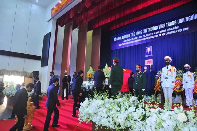 Lãnh đạo Đảng, nhà nước viếng nguyên Phó thủ tướng Trương Vĩnh Trọng - ảnh 6