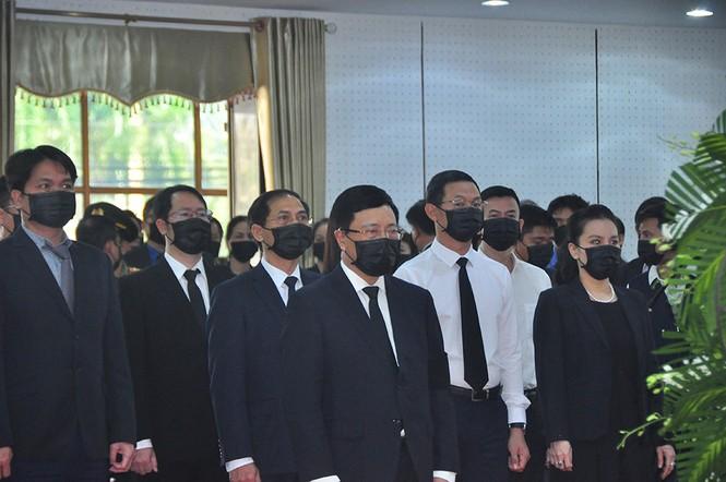 Lãnh đạo Đảng, nhà nước viếng nguyên Phó thủ tướng Trương Vĩnh Trọng - ảnh 5