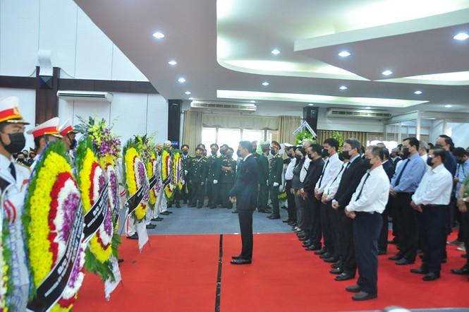 Lãnh đạo Đảng, nhà nước viếng nguyên Phó thủ tướng Trương Vĩnh Trọng - ảnh 9