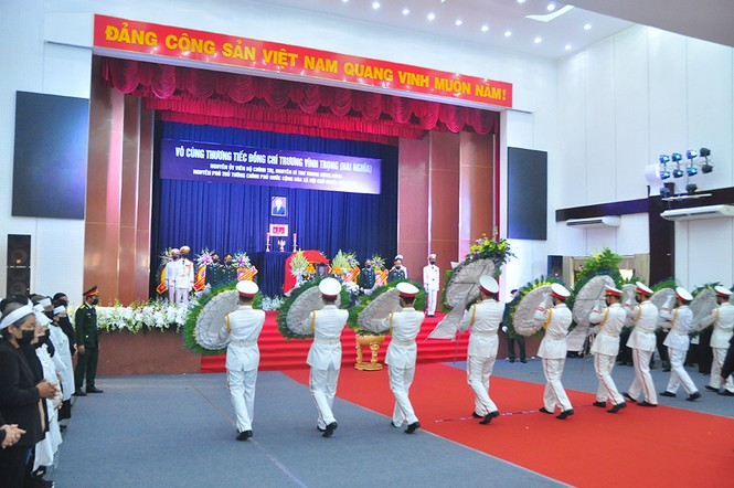 Lãnh đạo Đảng, nhà nước viếng nguyên Phó thủ tướng Trương Vĩnh Trọng - ảnh 8