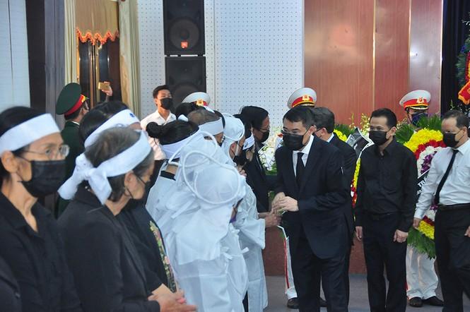 Lãnh đạo Đảng, nhà nước viếng nguyên Phó thủ tướng Trương Vĩnh Trọng - ảnh 11