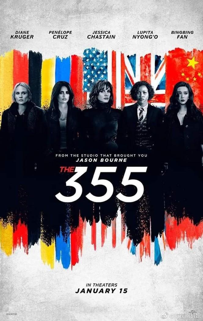 """Phim hành động Hollywood """"The 355"""" của Phạm Băng Băng bị dời lịch chiếu hẳn một năm - ảnh 1"""