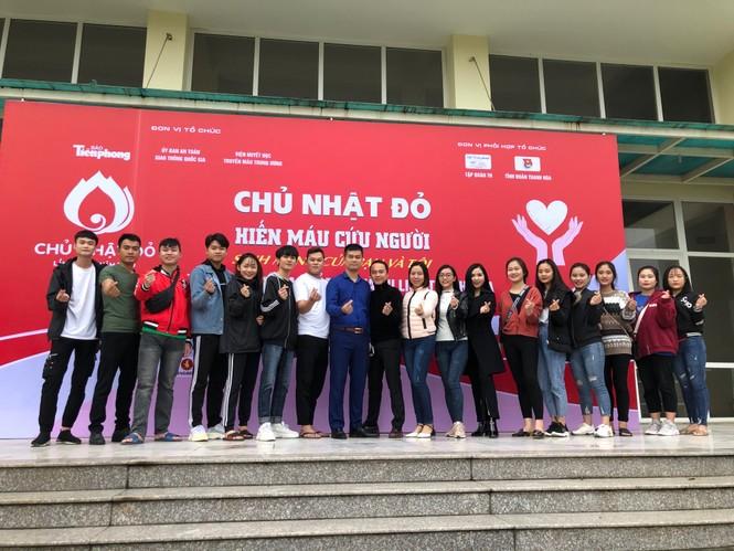 Trường Đại học Văn hoá thể thao và du lịch Thanh Hoá sẵn sàng Chủ nhật Đỏ - ảnh 2