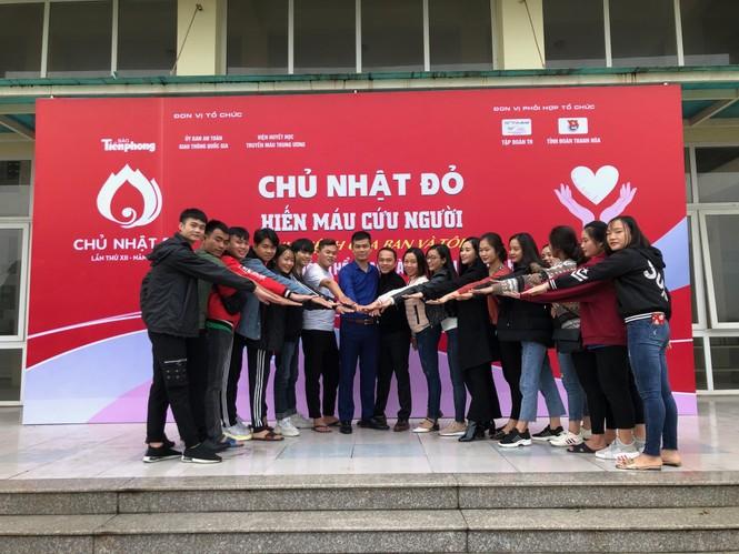 Trường Đại học Văn hoá thể thao và du lịch Thanh Hoá sẵn sàng Chủ nhật Đỏ - ảnh 1