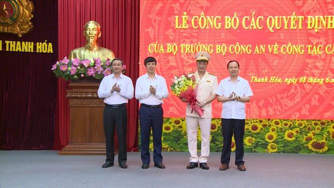 Công bố quyết định điều động, bổ nhiệm giám đốc Công an tỉnh Thanh Hoá - ảnh 2