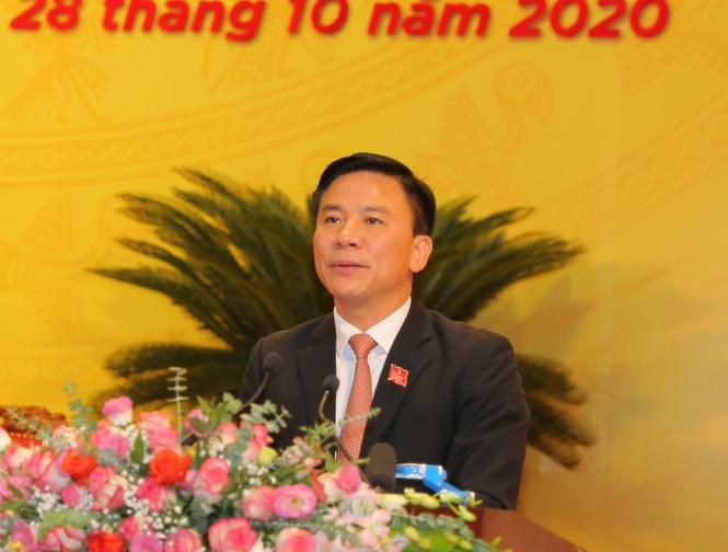 Bầu đoàn chủ tịch Đại hội Đảng bộ tỉnh Thanh Hóa - ảnh 4