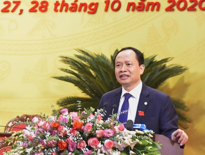 Bầu đoàn chủ tịch Đại hội Đảng bộ tỉnh Thanh Hóa - ảnh 3