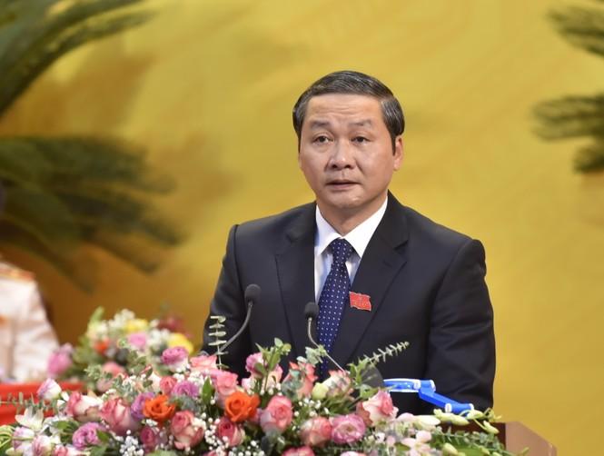 Bầu đoàn chủ tịch Đại hội Đảng bộ tỉnh Thanh Hóa - ảnh 5