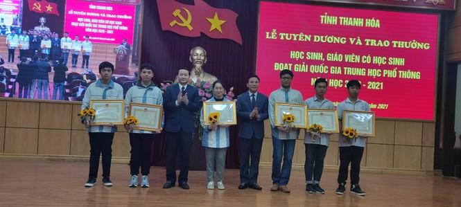 Thanh Hoá vươn lên thứ 5 số học sinh giỏi quốc gia THPT  - ảnh 1
