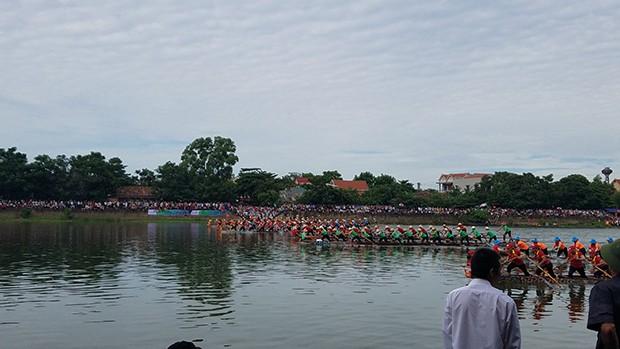 Tưng bừng lễ hội đua thuyền trên quê hương Đại Tướng - ảnh 8