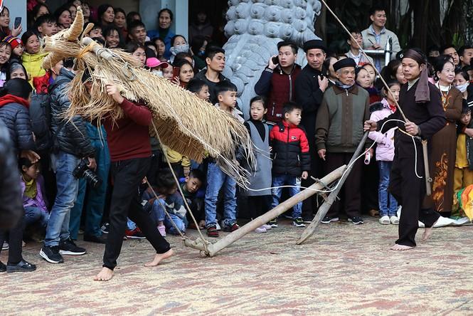 Độc đáo lễ hội trâu rơm bò rạ ngày xuân - ảnh 15