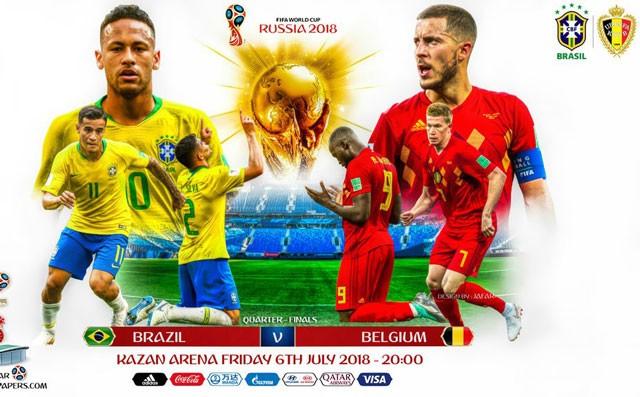 Cận cảnh màn 'luyện công' vui nhộn của Brazil trước trận gặp Bỉ - ảnh 2