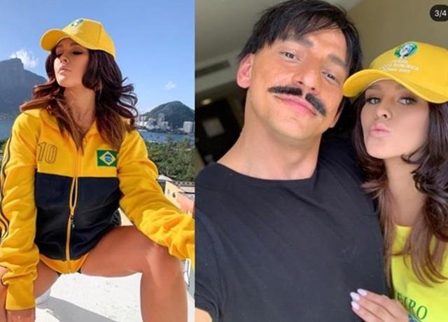 Âm mưu phá hoại trận chung kết Copa America, CĐV ngực bự bị bắt giữ - ảnh 1
