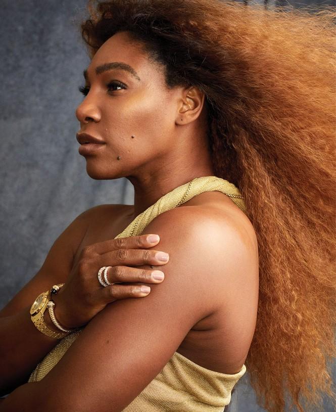 Serena Williams hở bạo trên trang bìa tạp chí danh tiếng - ảnh 5