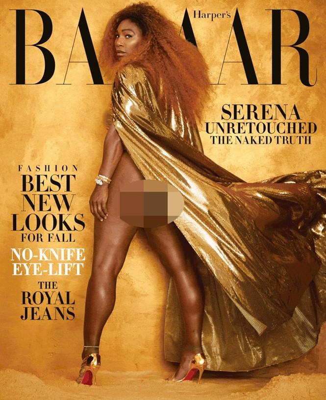 Serena Williams hở bạo trên trang bìa tạp chí danh tiếng - ảnh 3