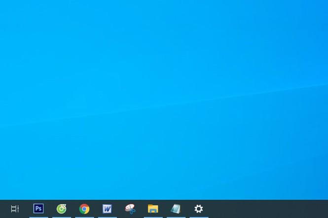 Hướng dẫn chuyển vị trí thanh taskbar trên Windows 10 - ảnh 2