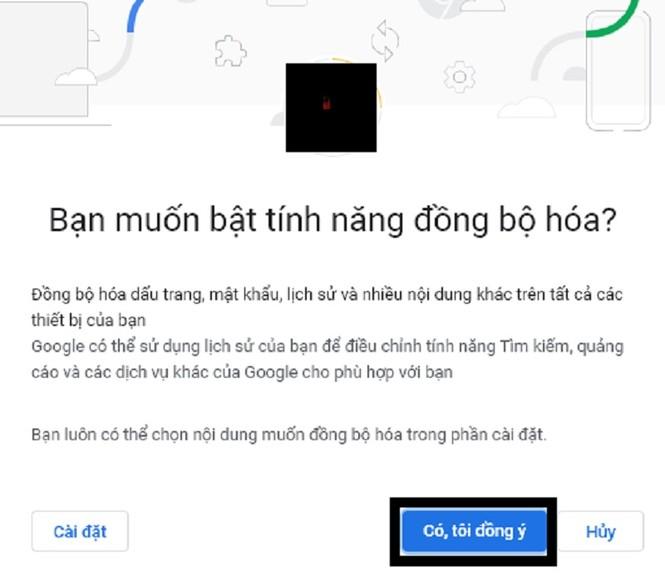 Hướng dẫn bật tính năng đồng bộ hóa trên Google Chrome - ảnh 4