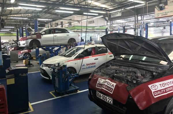 Các cơ sở bảo hành ôtô ở Việt Nam - ảnh 1
