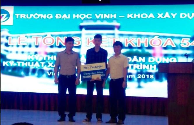 Học bổng Dr Thanh - ảnh 2