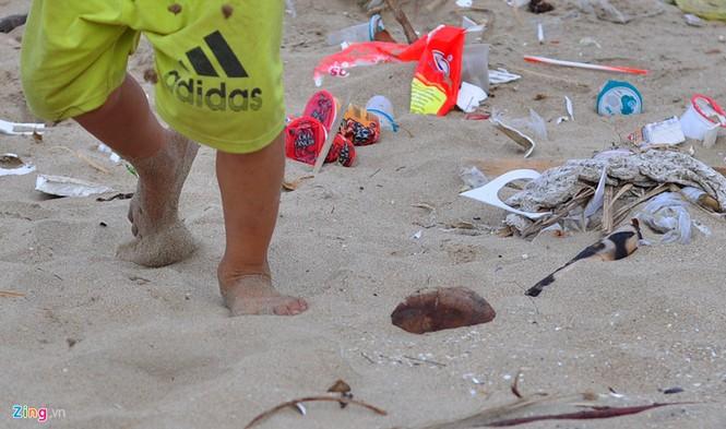 Bờ biển đẹp trở thành bãi chứa hàng tấn rác thải - ảnh 11