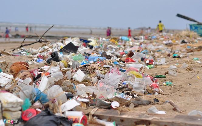 Bờ biển đẹp trở thành bãi chứa hàng tấn rác thải - ảnh 2