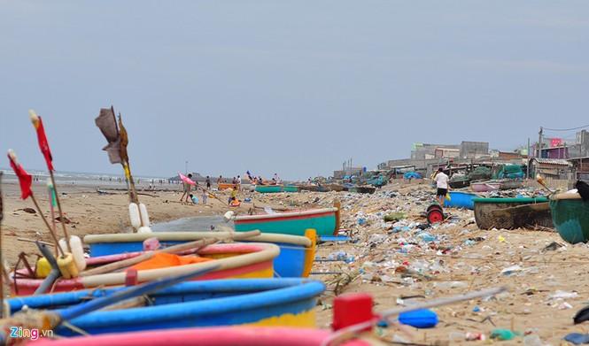 Bờ biển đẹp trở thành bãi chứa hàng tấn rác thải - ảnh 3