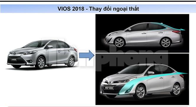 Toyota Vios 2018 lộ thông số kỹ thuật - ảnh 5