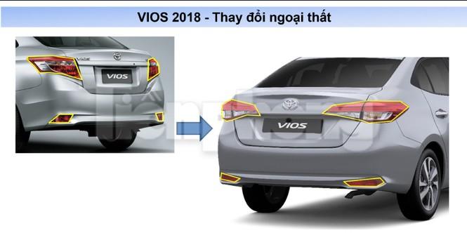 Toyota Vios 2018 lộ thông số kỹ thuật - ảnh 6