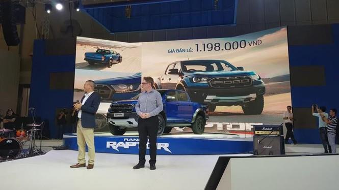 Gian hàng Ford ở Vietnam Motor Show 2018 - ảnh 7