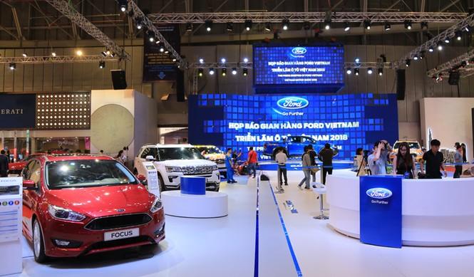 Gian hàng Ford ở Vietnam Motor Show 2018 - ảnh 1
