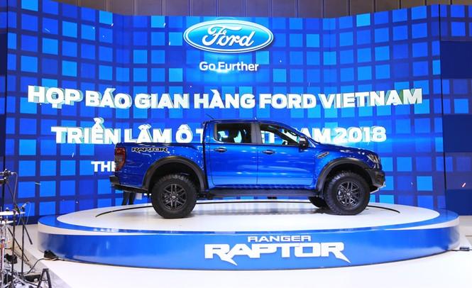 Gian hàng Ford ở Vietnam Motor Show 2018 - ảnh 2