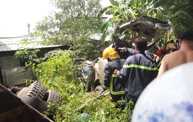 Danh tính nạn nhân vụ tai nạn giữa xe ô tô 7 chỗ và xe cẩu tại Bến Tre - ảnh 1