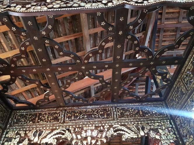 Chiêm ngưỡng chiếc giường cổ có giá bạc tỷ ở Đồng Tháp - ảnh 5
