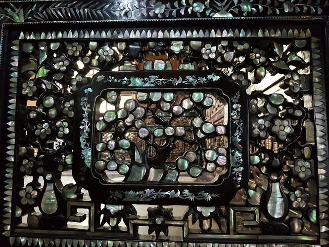 Chiêm ngưỡng chiếc giường cổ có giá bạc tỷ ở Đồng Tháp - ảnh 4