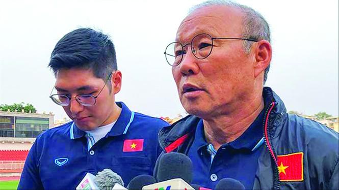 Ông Park tính phương án thay thế Văn Hậu ở đội U23 Việt Nam - ảnh 1