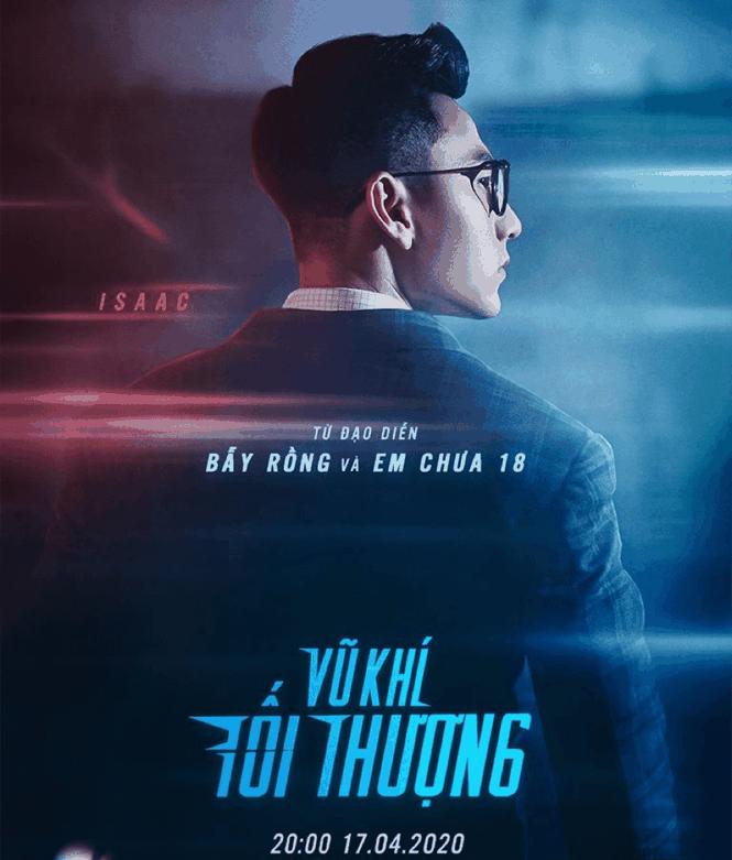 Sao Việt 24H: Liên Bỉnh Phát làm MV cổ động đẩy lùi COVID-19, Isacc tung poster siêu ngầu - ảnh 4