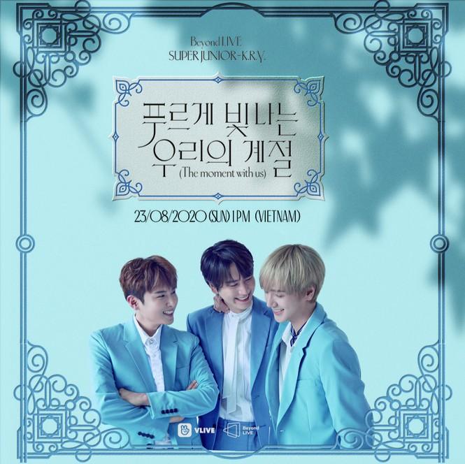 """SUPER JUNIOR-K.R.Y. """"hẹn hò lãng mạn"""" cùng fan toàn cầu với concert trực tuyến - ảnh 1"""