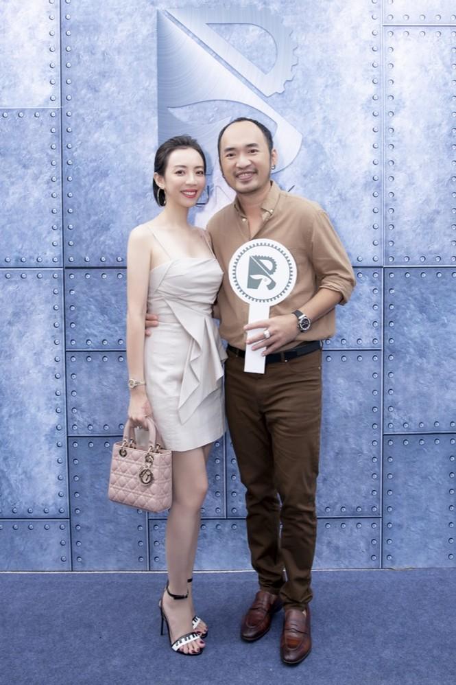 Loạt sao Việt Trường Giang - Nhã Phương, Midu... đến chúc mừng Ngô Kiến Huy lên chức ông c - ảnh 7