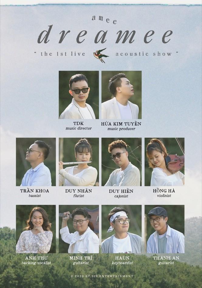 AMEE kết hợp Ricky Star, Hoàng Dũng làm show
