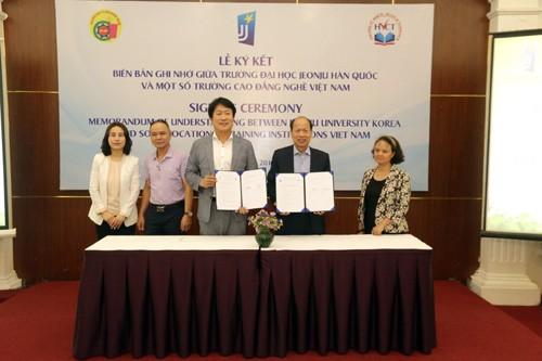 Hợp tác Hàn Quốc nâng cao chất lượng đào tạo nghề - ảnh 2