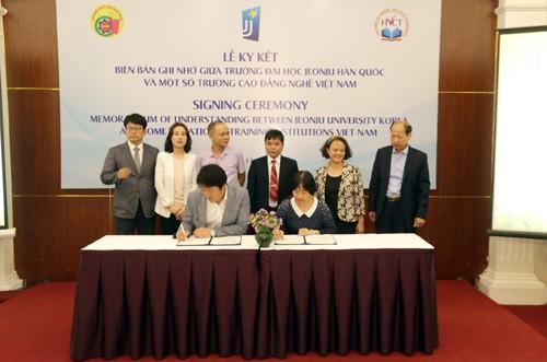 Hợp tác Hàn Quốc nâng cao chất lượng đào tạo nghề - ảnh 3
