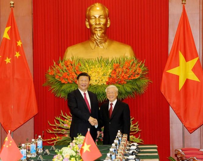 Lễ đón trọng thể Chủ tịch Trung Quốc Tập Cận Bình - ảnh 2