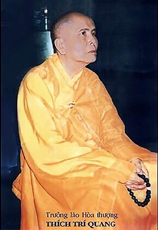 Trưởng lão Hòa thượng Thích Trí Quang viên tịch ở Huế để lại di huấn không báo tang, phúng viếng  - ảnh 1