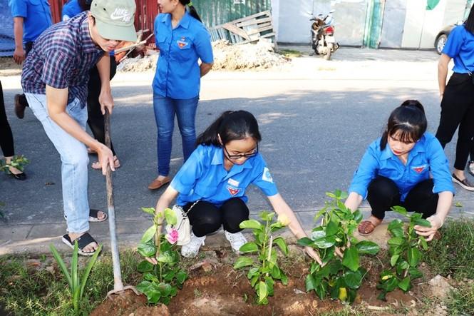 Đoàn viên thanh niên cụm Bắc Trung Bộ hưởng ứng 'Chủ Nhật xanh' tại Huế - ảnh 5