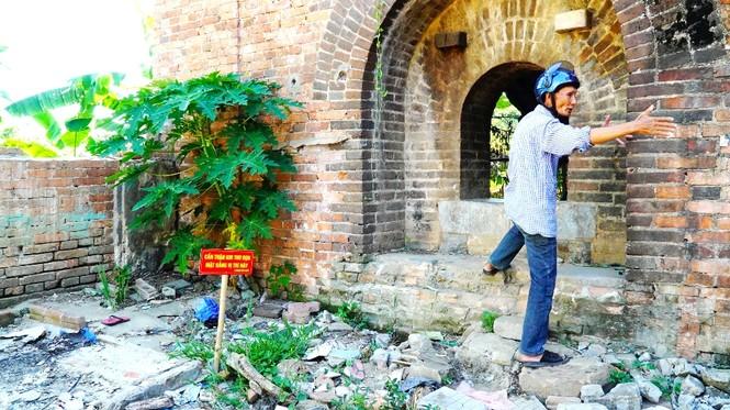 Bí ẩn cổng gạch cổ xuyên tường Kinh thành Huế xuất lộ sau di dân - ảnh 8