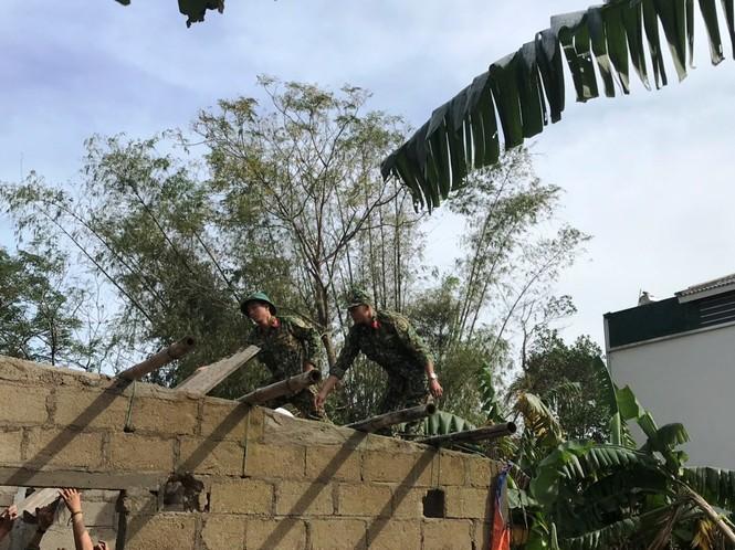 Quân đội, công an huy động 100% quân số ứng phó bão số 9 - ảnh 5