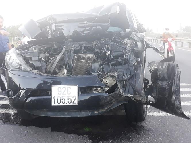 tai nạn ô tô liên hoàn, 4 người thương vong ở Quảng Nam - ảnh 2