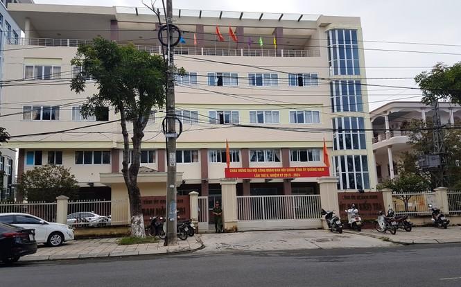 Một cán bộ Uỷ ban kiểm tra Quảng Nam tử vong tại trụ sở - ảnh 1